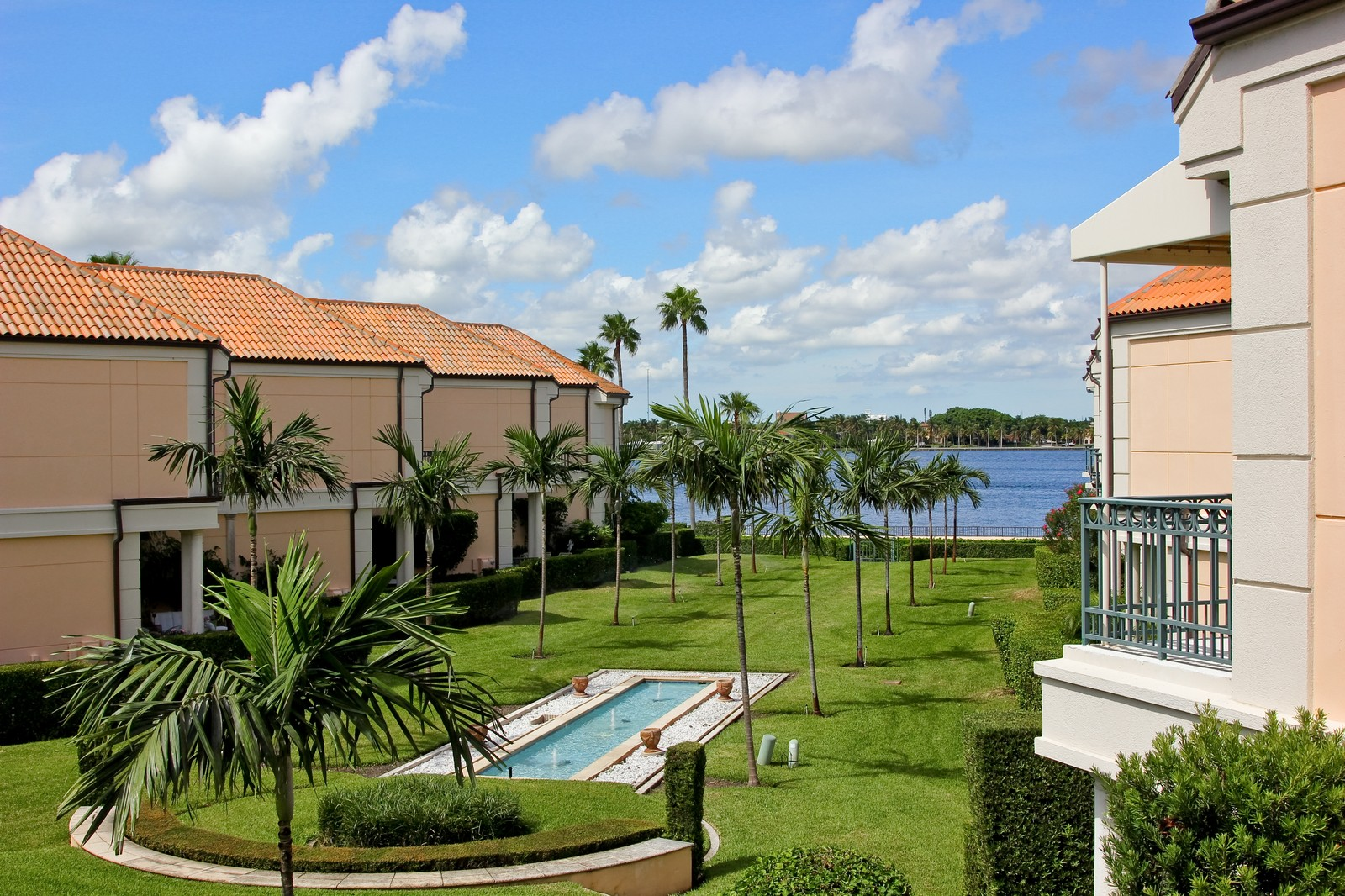 Real Estate Photography - 300 Atlantic Ave, Palm Beach, FL, 33480 - Intracoastal View