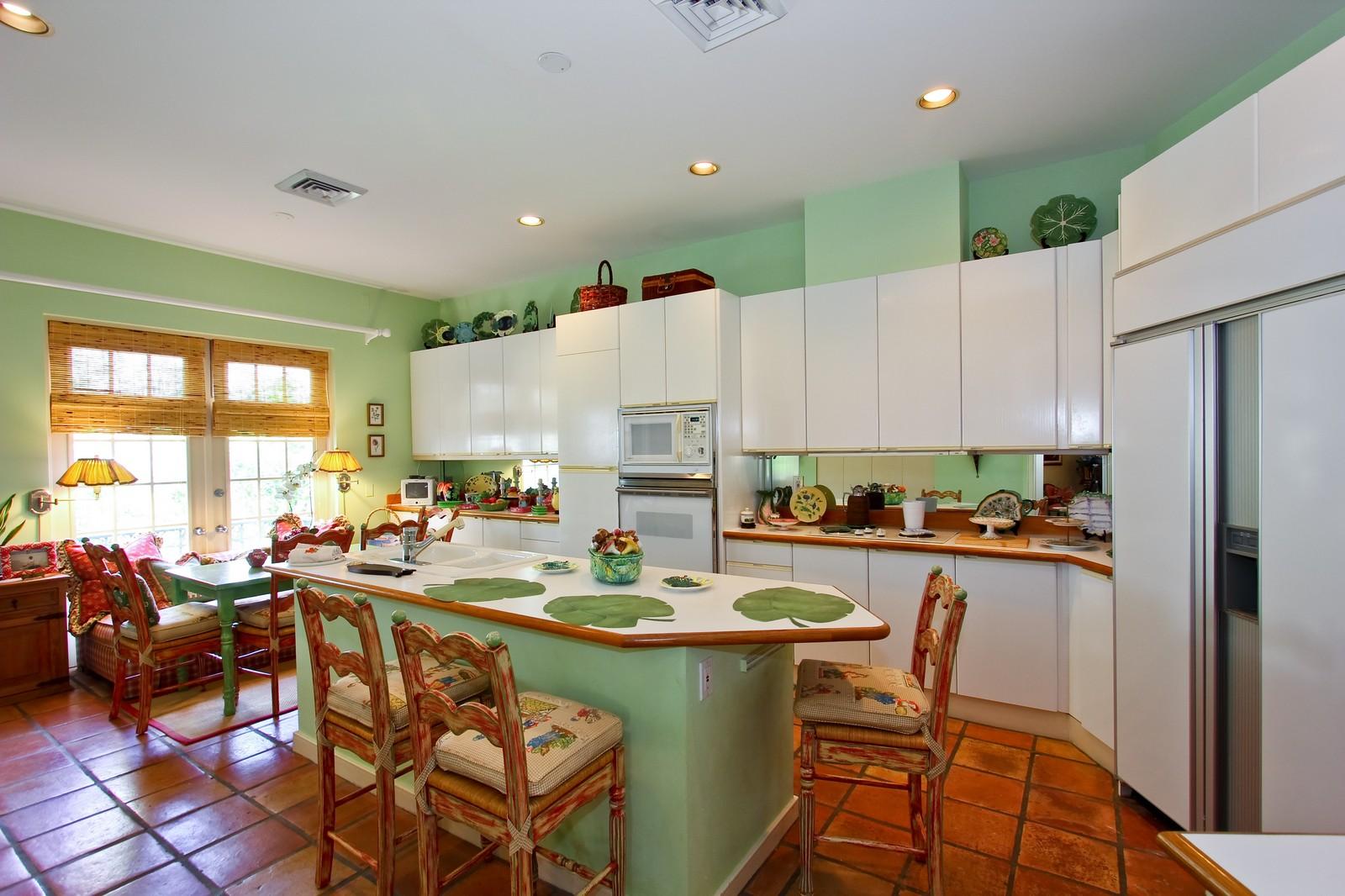 Real Estate Photography - 300 Atlantic Ave, Palm Beach, FL, 33480 - Kitchen