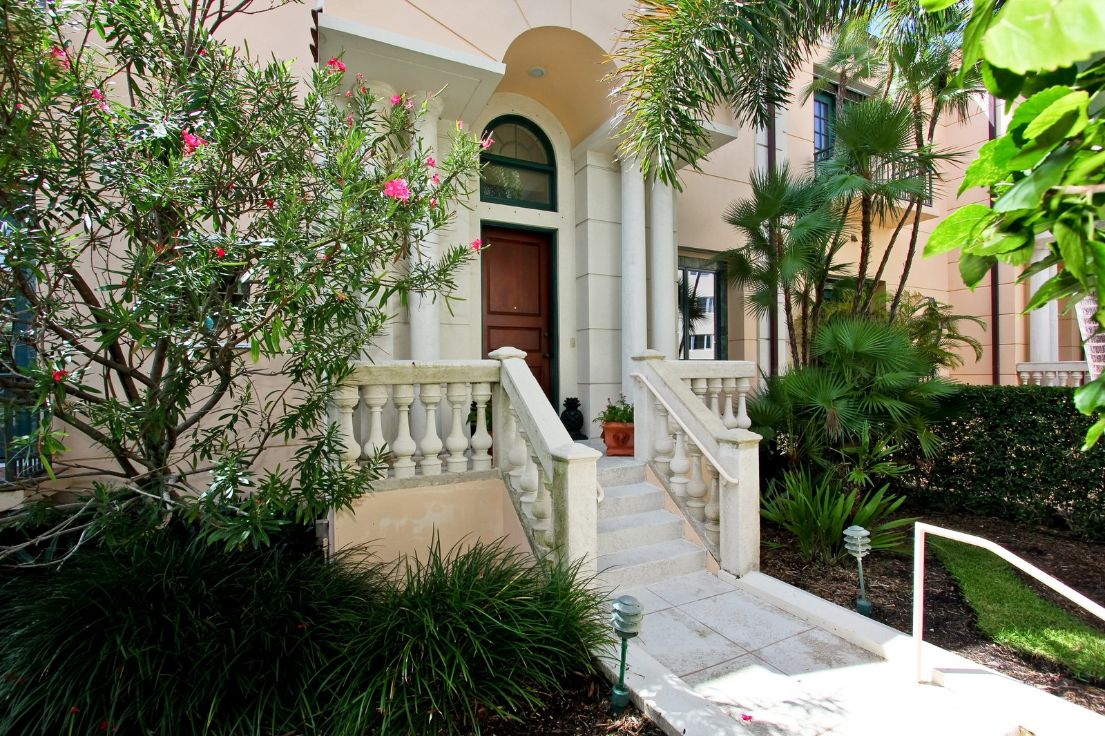 Real Estate Photography - 300 Atlantic Ave, Palm Beach, FL, 33480 - Entryway