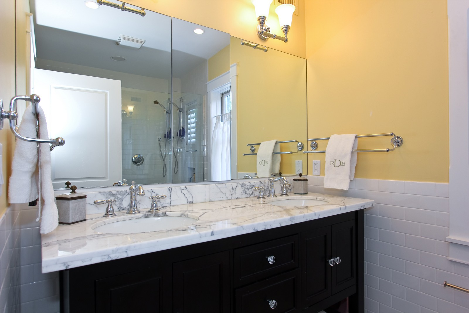 Real Estate Photography - 806 Flamingo Drive, West Palm Beach, FL, 33401 - Master Bathroom