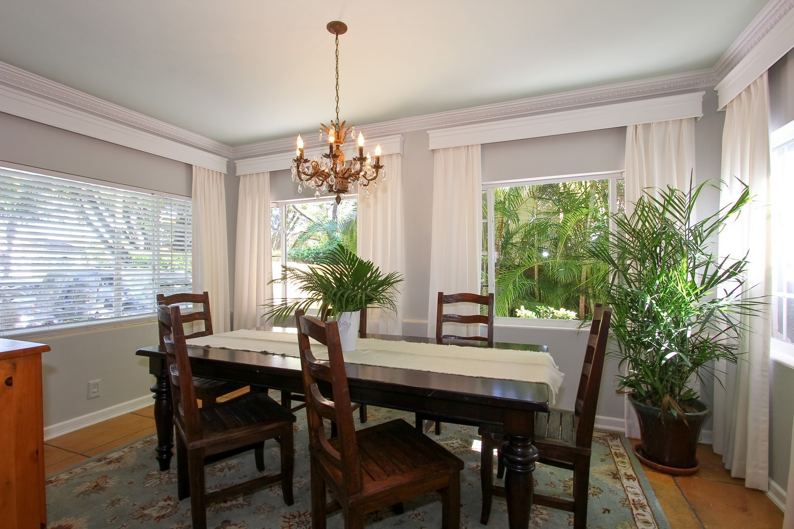 Real Estate Photography - 806 Flamingo Drive, West Palm Beach, FL, 33401 - Dining Room