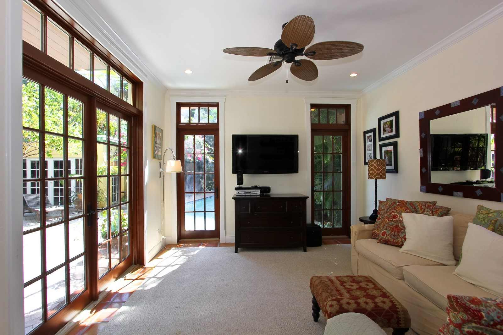 Real Estate Photography - 806 Flamingo Drive, West Palm Beach, FL, 33401 - Family Room