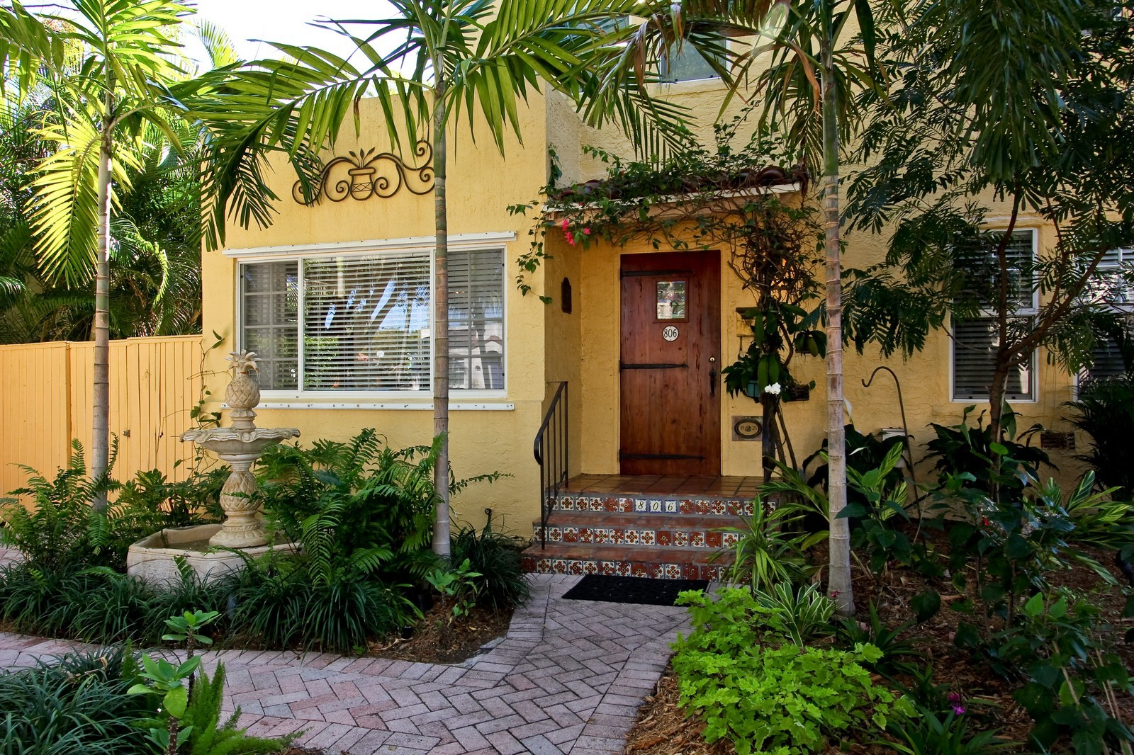 Real Estate Photography - 806 Flamingo Drive, West Palm Beach, FL, 33401 - Entryway