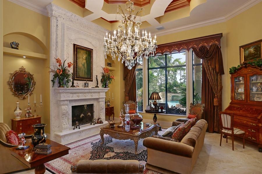 Real Estate Photography - 7730 Woodsmiur Dr, West Palm Beach, FL, 33412 - Living Room