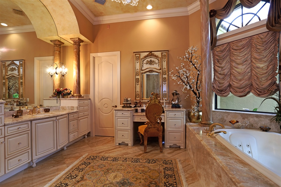 Real Estate Photography - 7730 Woodsmiur Dr, West Palm Beach, FL, 33412 - Master Bathroom