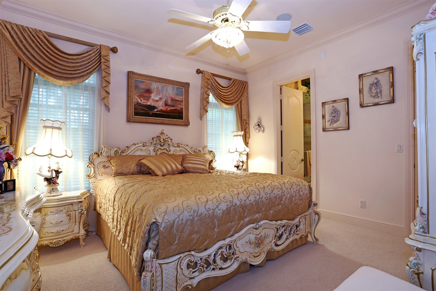 Real Estate Photography - 7730 Woodsmiur Dr, West Palm Beach, FL, 33412 - Bedroom