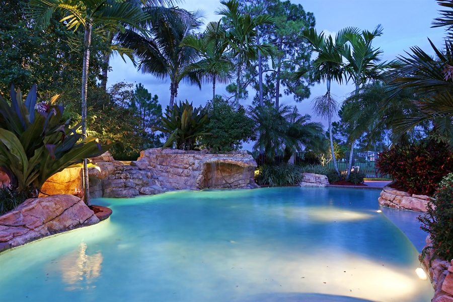 Real Estate Photography - 7730 Woodsmiur Dr, West Palm Beach, FL, 33412 - Pool
