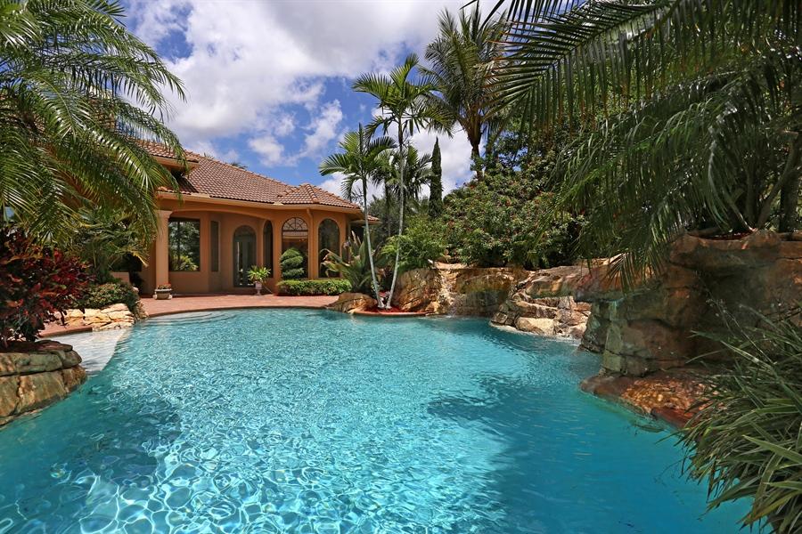 Real Estate Photography - 7730 Woodsmiur Dr, West Palm Beach, FL, 33412 - Pool