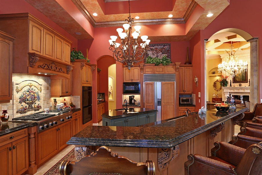 Real Estate Photography - 7730 Woodsmiur Dr, West Palm Beach, FL, 33412 - Kitchen
