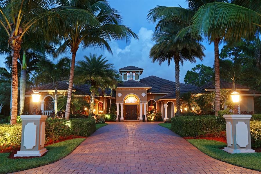 Real Estate Photography - 7730 Woodsmiur Dr, West Palm Beach, FL, 33412 - Front View