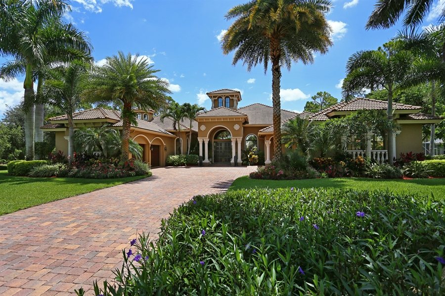 Real Estate Photography - 7730 Woodsmiur Dr, West Palm Beach, FL, 33412 - Front View