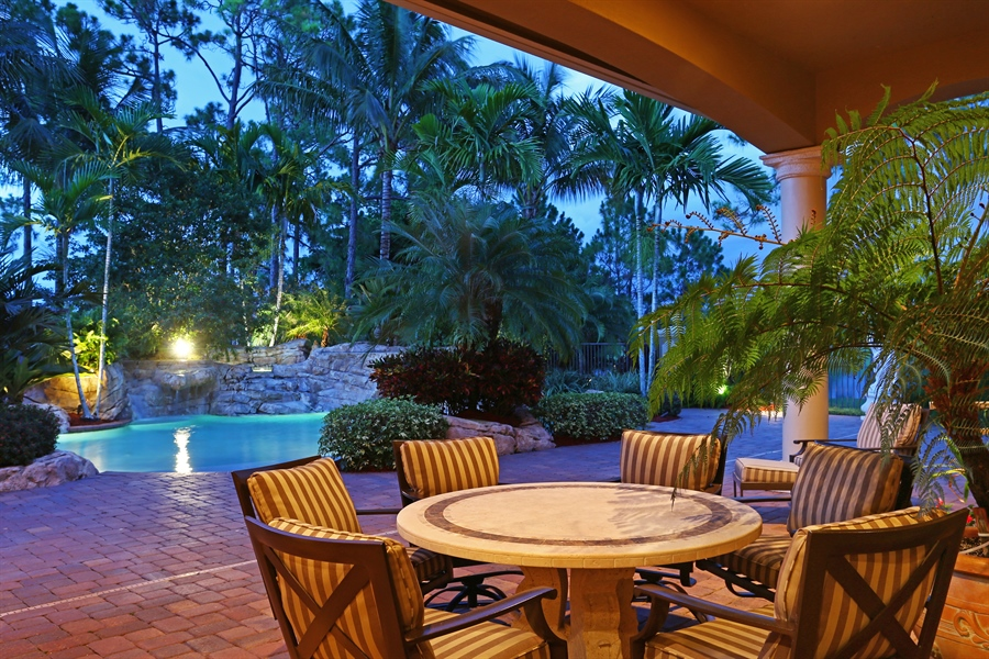 Real Estate Photography - 7730 Woodsmiur Dr, West Palm Beach, FL, 33412 - Porch