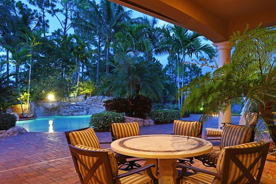 Real Estate Photography - 7730 Woodsmiur Dr, West Palm Beach, FL, 33412 - Porch