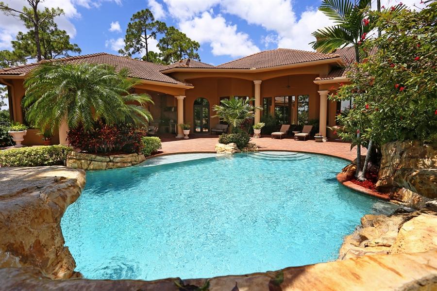 Real Estate Photography - 7730 Woodsmiur Dr, West Palm Beach, FL, 33412 - Patio