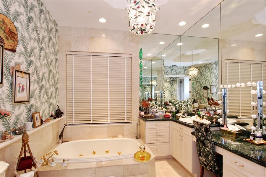 Real Estate Photography - 377 N Lake Way, Palm Beach, FL, 33480 - Master Bathroom