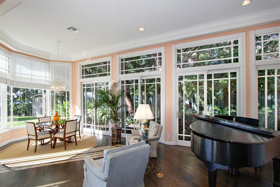 Real Estate Photography - 377 N Lake Way, Palm Beach, FL, 33480 - Living Room