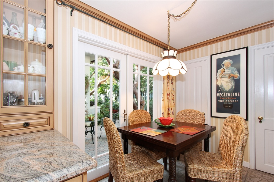 Real Estate Photography - 377 N Lake Way, Palm Beach, FL, 33480 - Breakfast Area