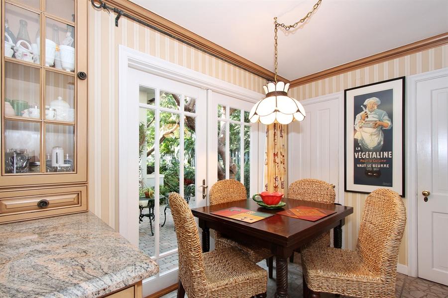 Real Estate Photography - 377 N Lake Way, Palm Beach, FL, 33480 - Breakfast Area