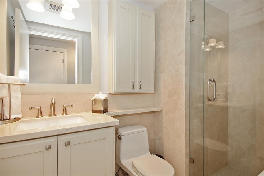 Real Estate Photography - 455 E Palmetto Park Rd, Unit 7W, Boca Raton, FL, 33432 - 3rd Bathroom