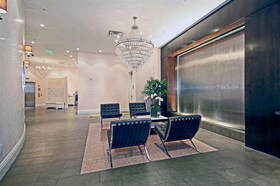 Real Estate Photography - 455 E Palmetto Park Rd, Unit 7W, Boca Raton, FL, 33432 - Lobby