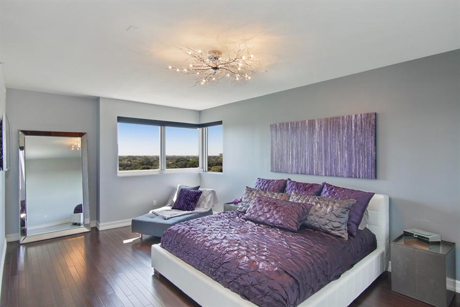 Real Estate Photography - 455 E Palmetto Park Rd, Unit 7W, Boca Raton, FL, 33432 - Master Bedroom