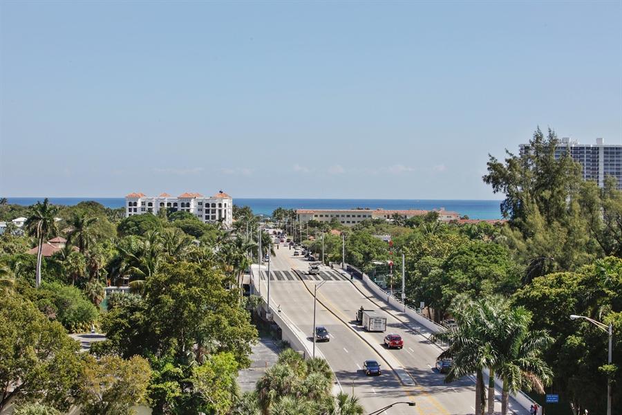 Real Estate Photography - 455 E Palmetto Park Rd, Unit 7W, Boca Raton, FL, 33432 - View