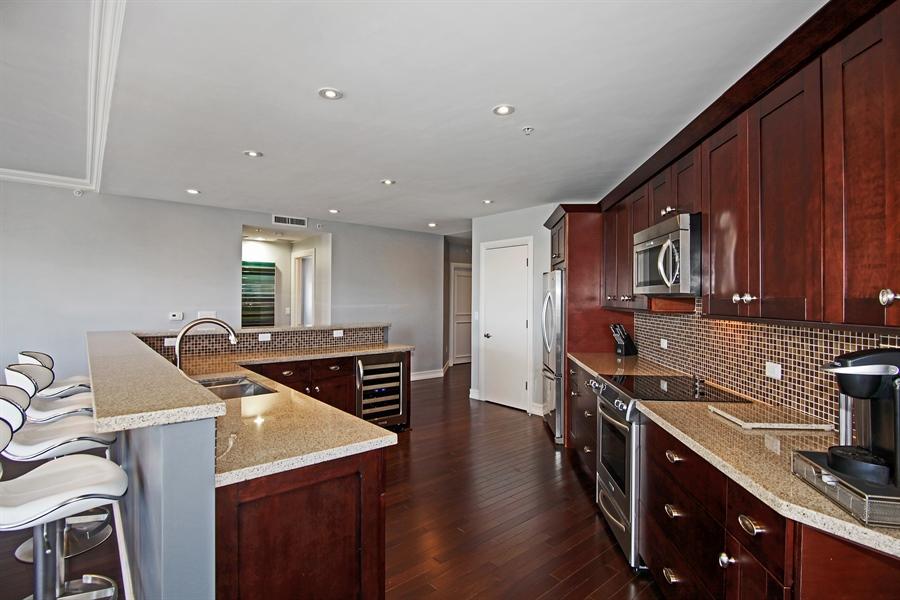 Real Estate Photography - 455 E Palmetto Park Rd, Unit 7W, Boca Raton, FL, 33432 - Kitchen