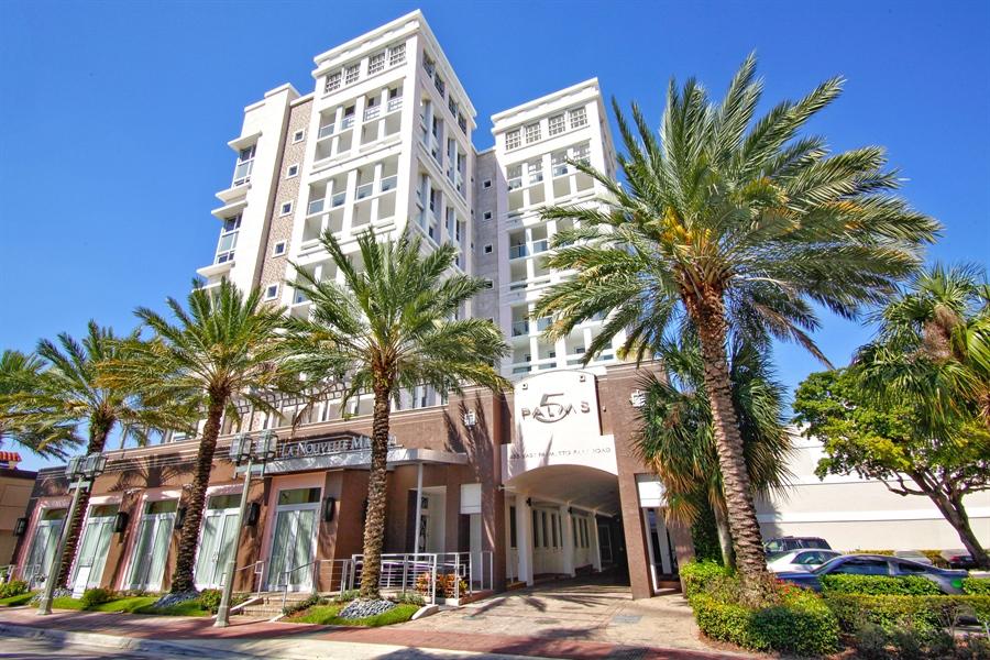Real Estate Photography - 455 E Palmetto Park Rd, Unit 7W, Boca Raton, FL, 33432 - Front View