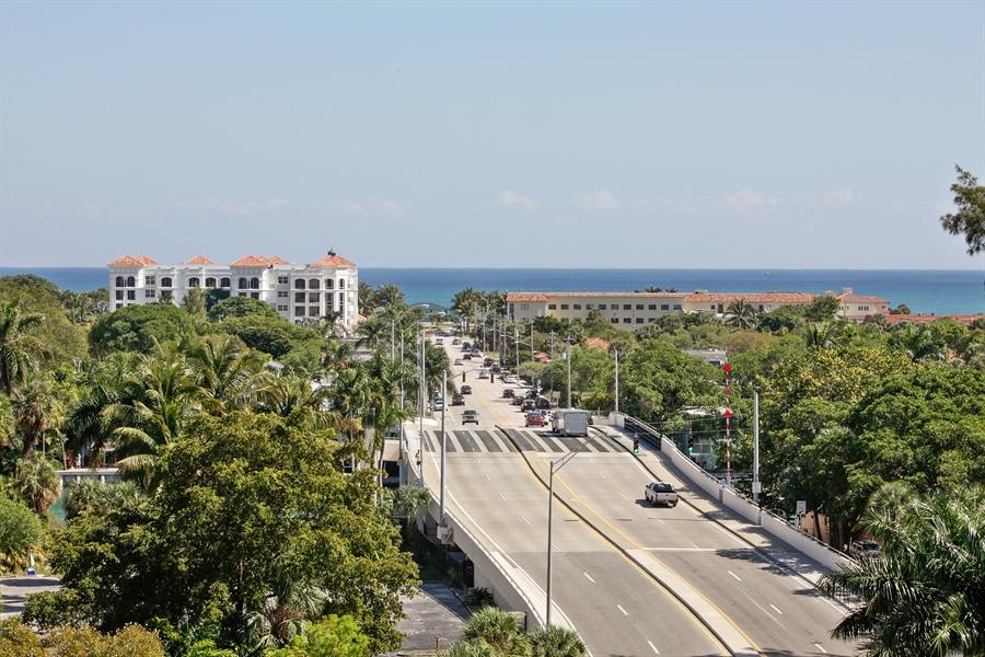 Real Estate Photography - 455 E Palmetto Park Rd, Unit 7W, Boca Raton, FL, 33432 - Ocean View