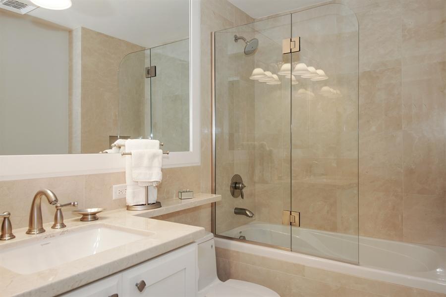 Real Estate Photography - 455 E Palmetto Park Rd, Unit 7W, Boca Raton, FL, 33432 - 2nd Bathroom