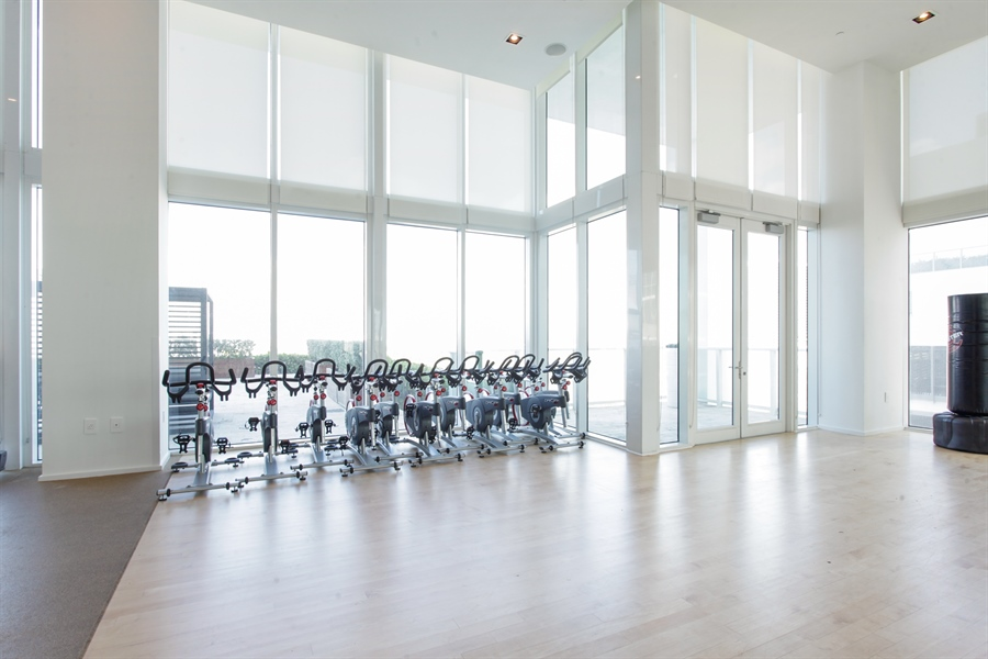 Real Estate Photography - 1040 Biscayne Blvd, 1605, Miami, FL, 33132 - Exercise Room