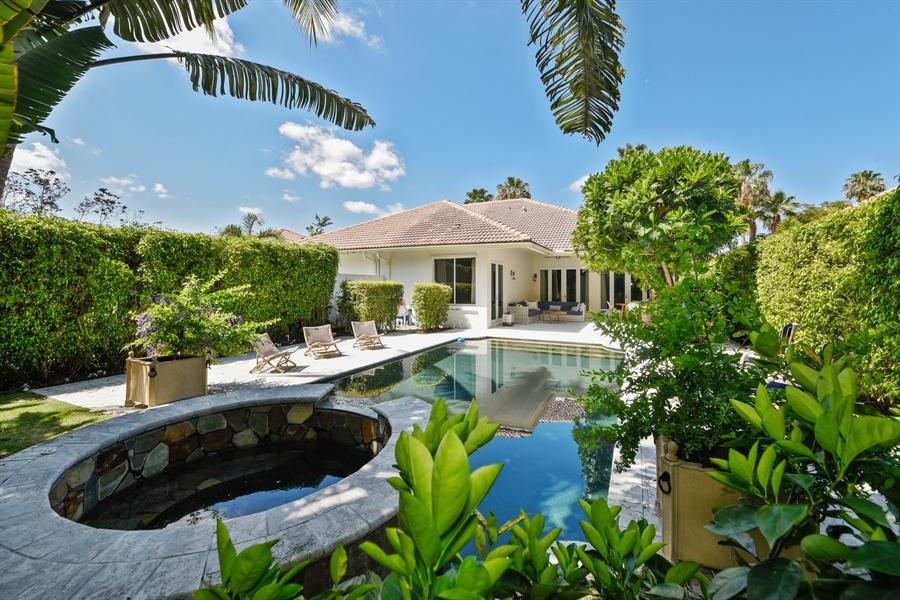 Real Estate Photography - 2900 Twin Oaks Way, Wellington, FL, 33414 - Rear View
