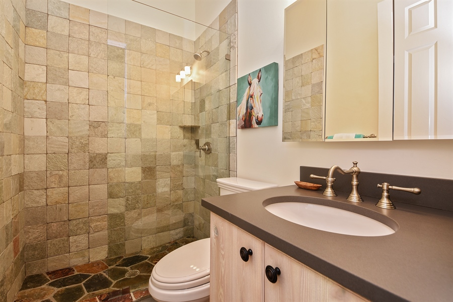 Real Estate Photography - 2900 Twin Oaks Way, Wellington, FL, 33414 - 2nd Bathroom