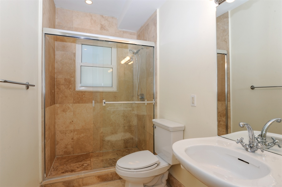 Real Estate Photography - 1018 Meridian Ave, #1, Miami Beach, FL, 33139 - Second Bathroom