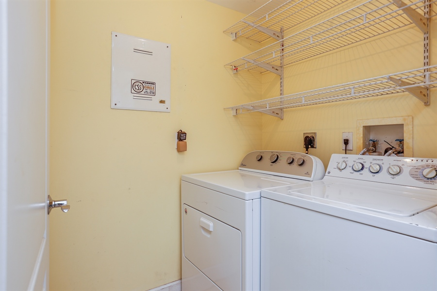 Real Estate Photography - 7604 SW 102nd St, 123, Pinecrest, FL, 33156 - Laundry Room
