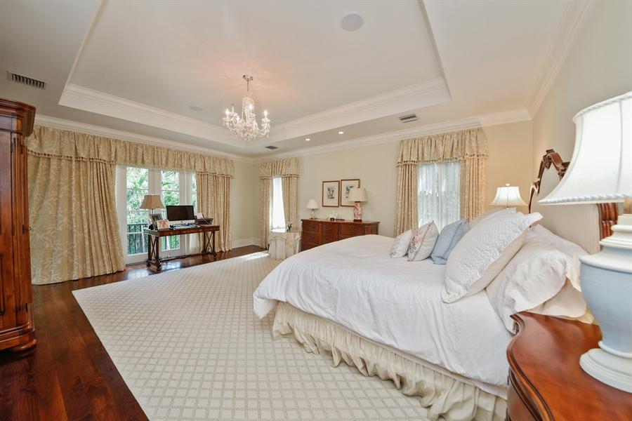 Real Estate Photography - 105 Casa Bendita, Palm Beach, FL, 33480 - Master Bedroom