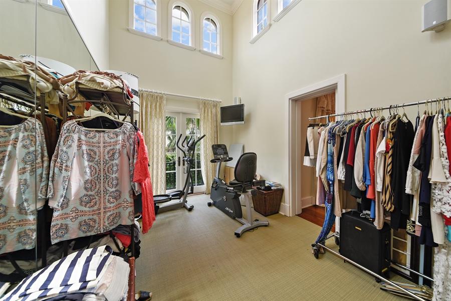 Real Estate Photography - 105 Casa Bendita, Palm Beach, FL, 33480 - Gym