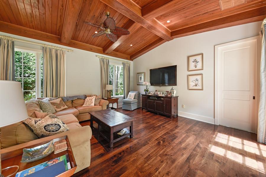 Real Estate Photography - 105 Casa Bendita, Palm Beach, FL, 33480 - Family Room
