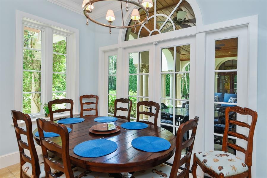 Real Estate Photography - 105 Casa Bendita, Palm Beach, FL, 33480 - Breakfast Area