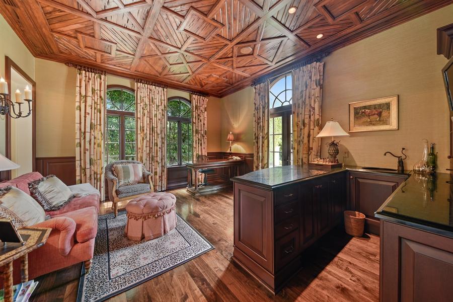 Real Estate Photography - 105 Casa Bendita, Palm Beach, FL, 33480 - Office