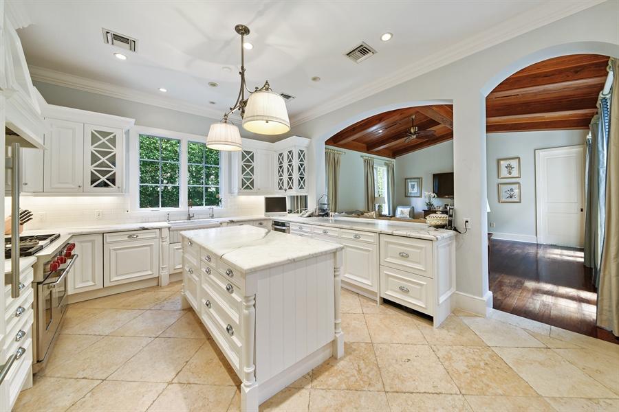 Real Estate Photography - 105 Casa Bendita, Palm Beach, FL, 33480 - Family Room / Kitchen