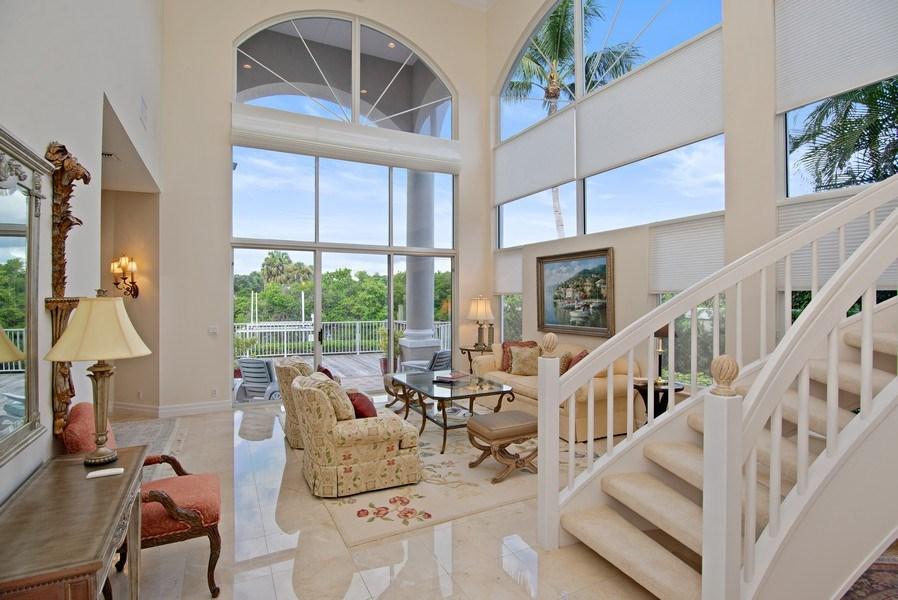 Real Estate Photography - 3231 Tidegate Circle, Jupiter, FL, 33477 - Living Room