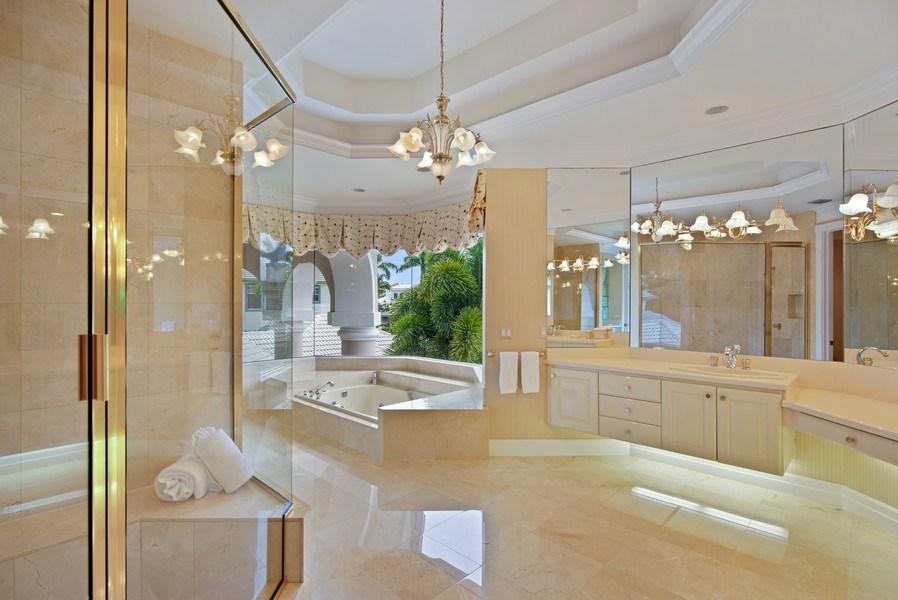 Real Estate Photography - 3231 Tidegate Circle, Jupiter, FL, 33477 - Master Bathroom