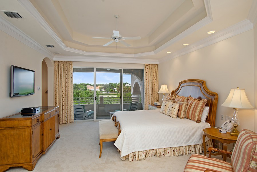 Real Estate Photography - 3231 Tidegate Circle, Jupiter, FL, 33477 - Master Bedroom