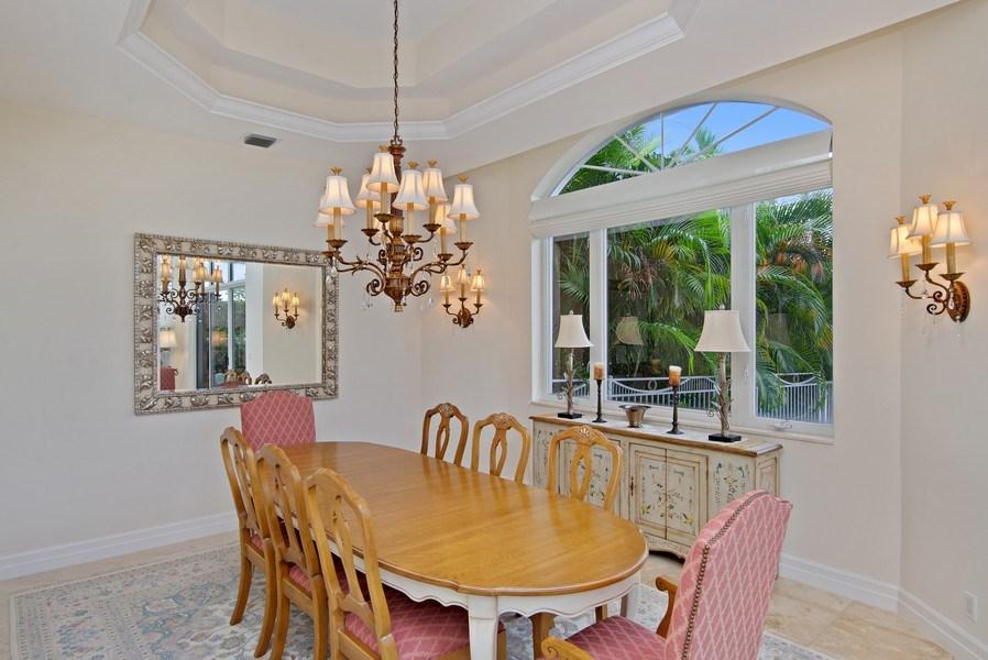 Real Estate Photography - 3231 Tidegate Circle, Jupiter, FL, 33477 - Dining Room
