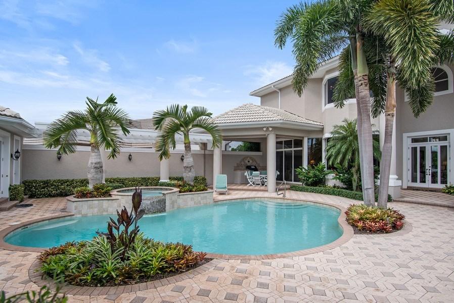 Real Estate Photography - 3231 Tidegate Circle, Jupiter, FL, 33477 - Pool
