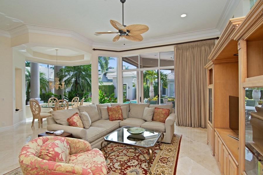 Real Estate Photography - 3231 Tidegate Circle, Jupiter, FL, 33477 - Family Room