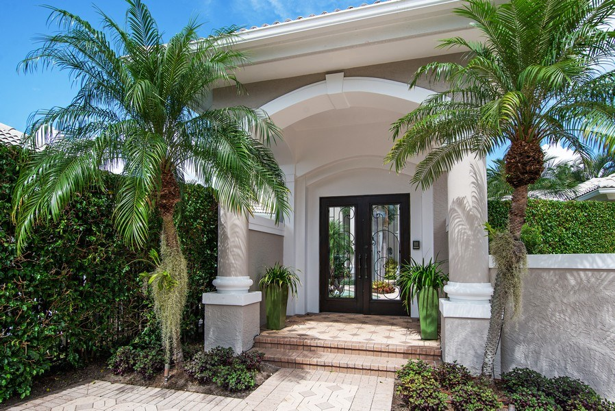Real Estate Photography - 3231 Tidegate Circle, Jupiter, FL, 33477 - Entrance