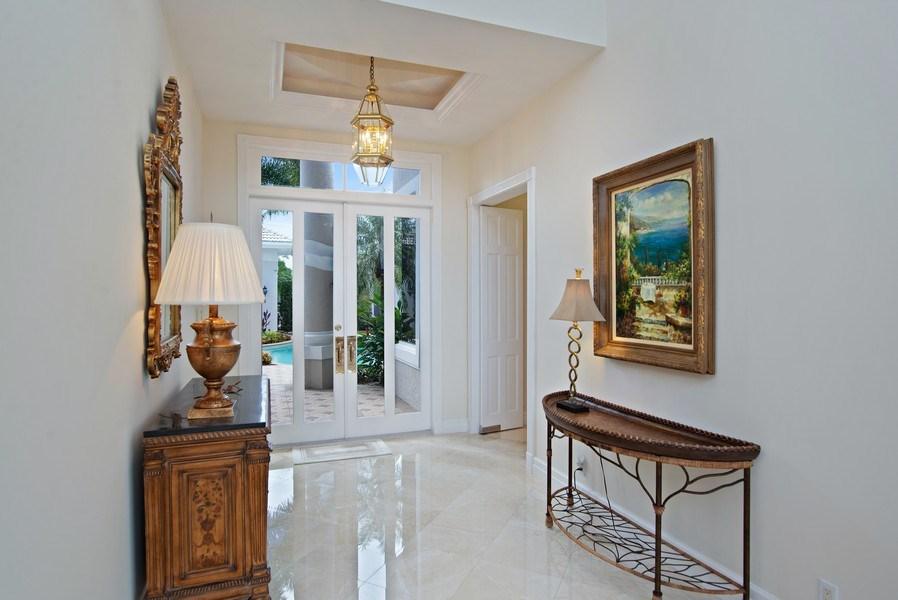 Real Estate Photography - 3231 Tidegate Circle, Jupiter, FL, 33477 - Foyer