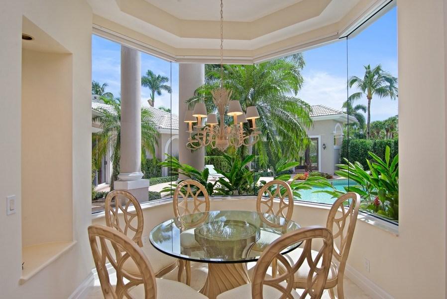 Real Estate Photography - 3231 Tidegate Circle, Jupiter, FL, 33477 - Breakfast Room